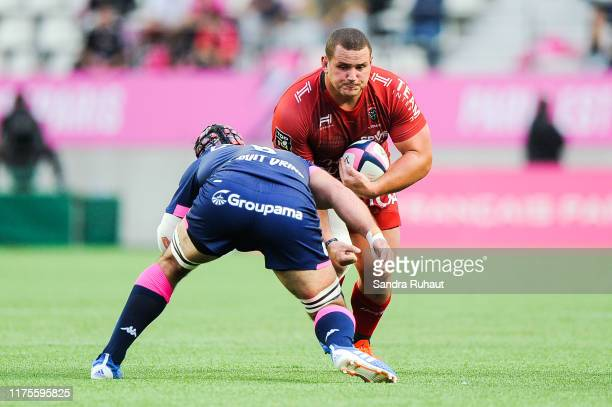 Wilco Mario LOUW of Toulon during the Top 14 match between at Stade Jean Bouin on October 13 2019 in Paris France