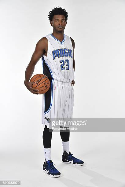 J Wilcox of the Orlando Magic poses for a portrait during NBA Media Day on September 26 2016 at Amway Center in Orlando Florida NOTE TO USER User...