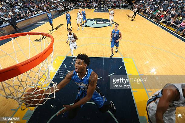 J Wilcox of the Orlando Magic shoots the ball against the Memphis Grizzlies during a preseason game on October 3 2016 at FedExForum in Memphis...