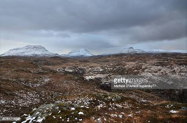 Wild Assynt in the storm