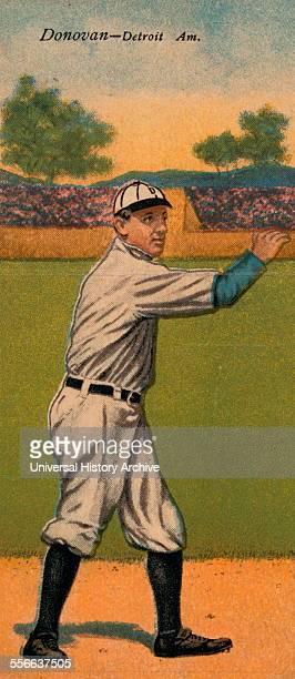 Wild Bill Donovan Detroit Tigers baseball card portrait Sponsor American tobacco company