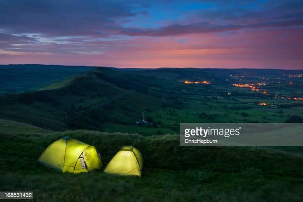 Wild Camping at Dusk