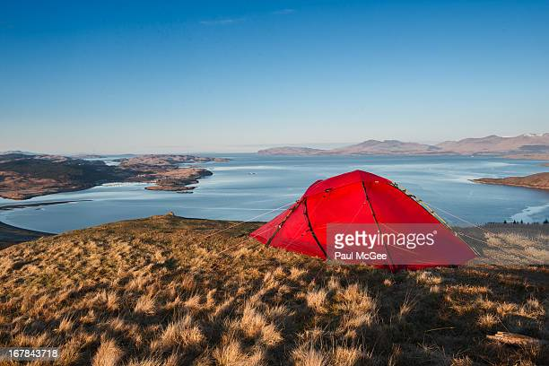 Wild Camping at the Summit of Ben Lora