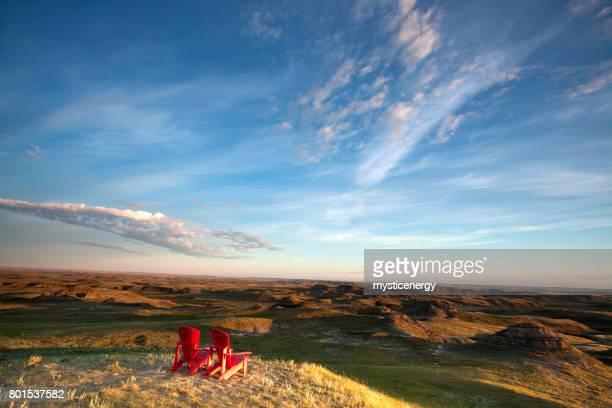Wild Diverse Grasslands National Park, Saskatchewan Canada