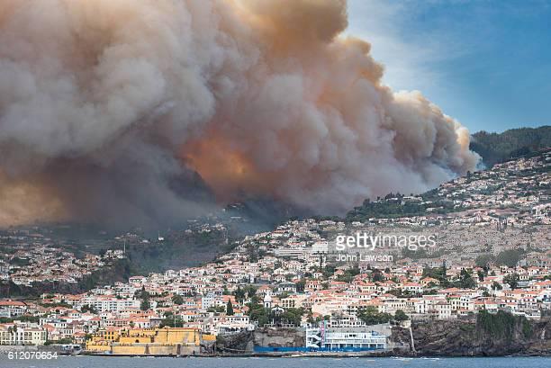 Wild fires, Madeira, August 2016