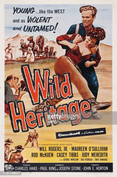 Wild Heritage poster US poster right from front Gigi Perreau Gary Gray 1958