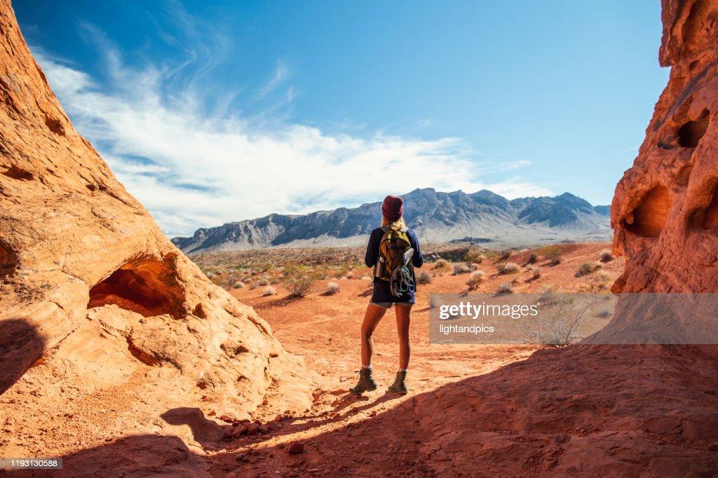 Wild hiking : Stock Photo