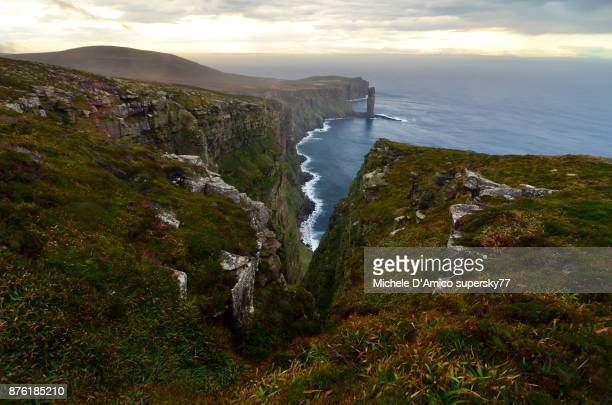 Wild Hot cliffs