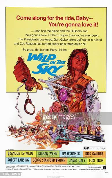 Wild In The Sky, poster, US poster, Brandon De Wilde , center from left: Georg Stanford Brown, Keenan Wynn, James Daly , 1972.