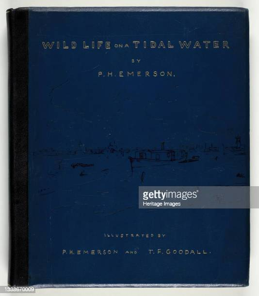 Wild Life on a Tidal Water: The Adventures of a House-Boat and Her Crew, 1890. A work made of photoetchings . Artist Peter Henry Emerson.
