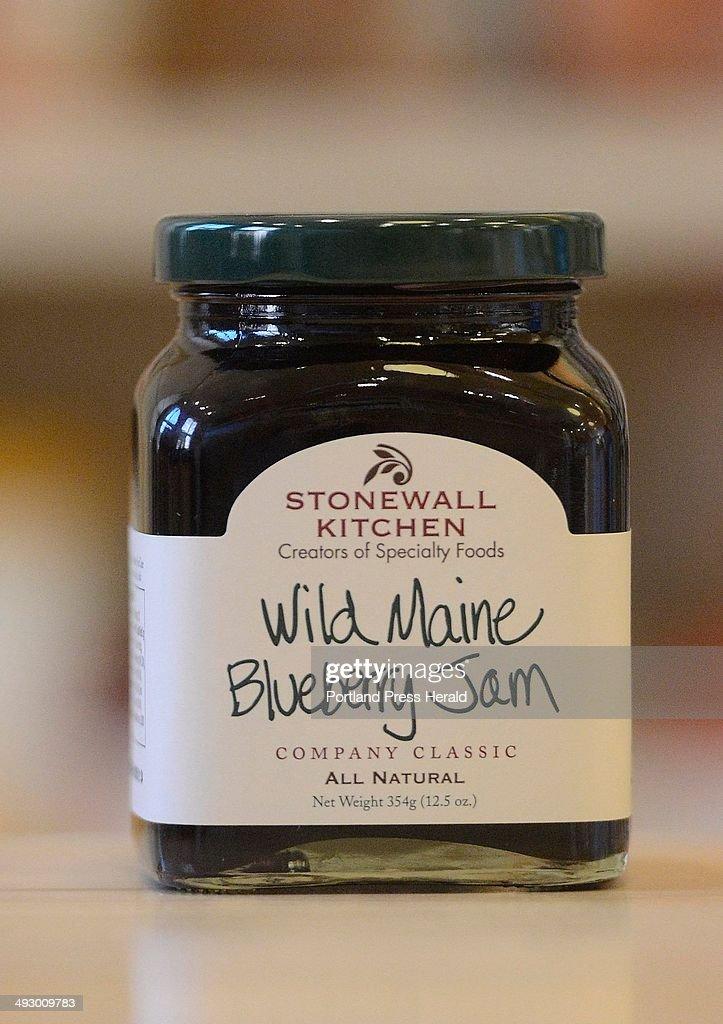 Wild Maine Blueberry Jam At Stonewall Kitchen In Portland Wednesday June 5  2012 Stonewall Kitchen Announced