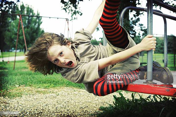 wild merry go round ride - boys wearing tights stock photos and pictures