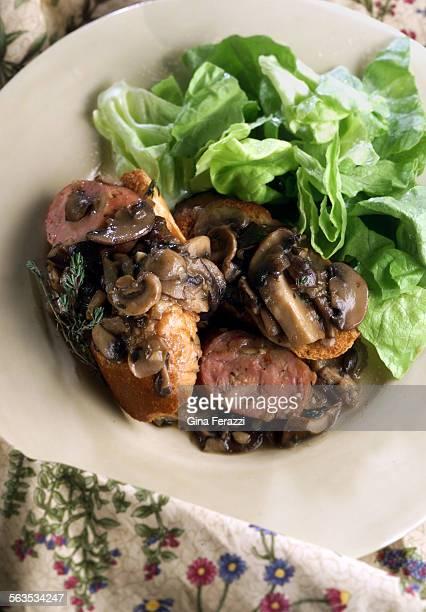 Wild Mushroom and Sausage Ragu'