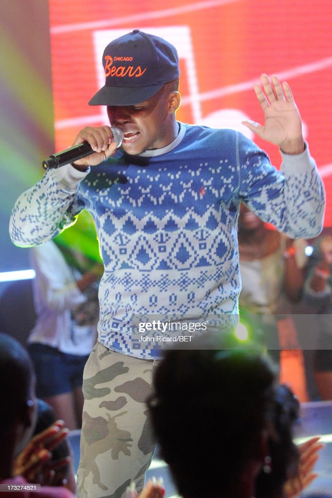 Wild Out Wednesday Summer Series contestant Reese Rel at BET's 106 & Park at BET Studios on July 10, 2013 in New York City.
