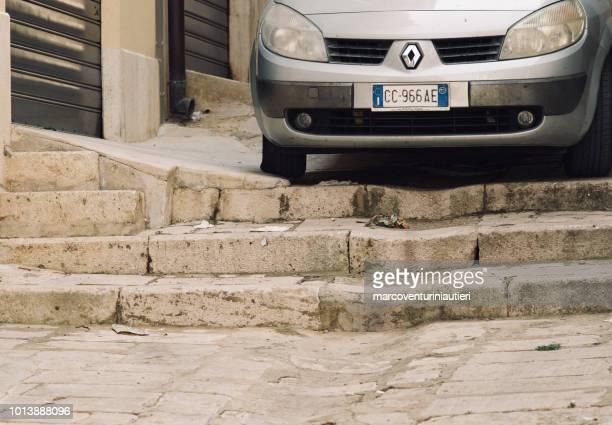 wild parking in Sicily