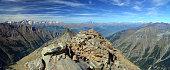 Wild ragged landscape of Gran Paradiso national Park