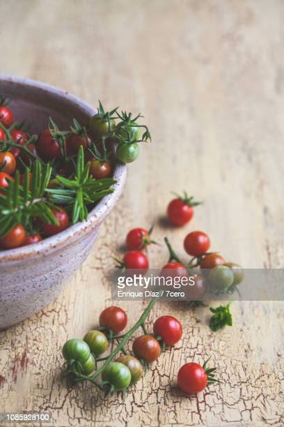 Wild Sown Cherry Tomatoes, On the Table