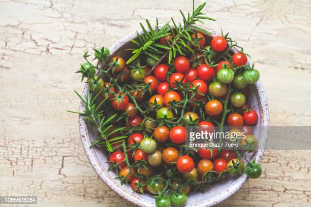 Wild Sown Cherry Tomatoes with Rosemary
