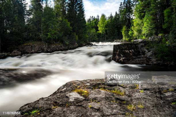 wild stream - telemark stock pictures, royalty-free photos & images