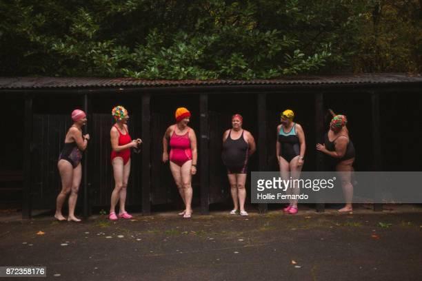 Wild Swimming Women's Group Autumnal Swim