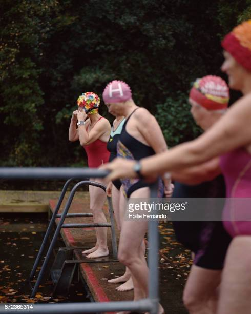 Wild Swimming Women's Group Autumnal Swim