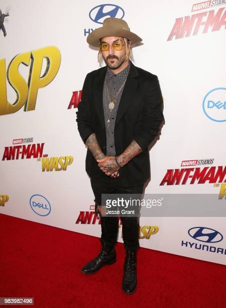 Wild the Coyote attends the Los Angeles Global Premiere for Marvel Studios' 'AntMan And The Wasp' at the El Capitan Theatre on June 25 2018 in...