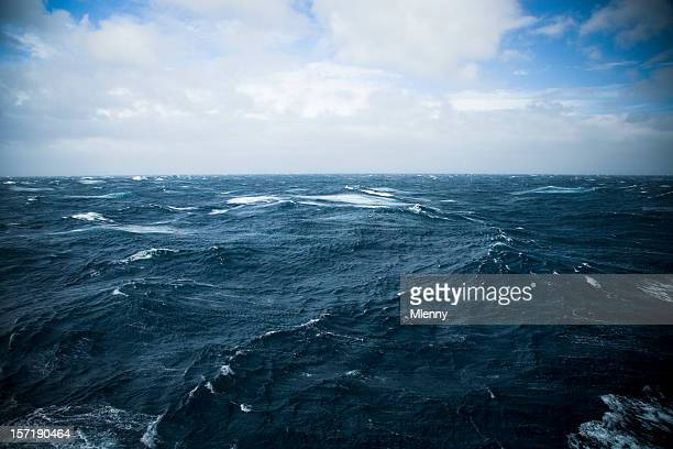 wild waters drake passage - drake passage stock photos and pictures