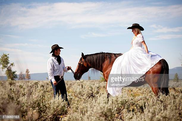 Wild West newly wed