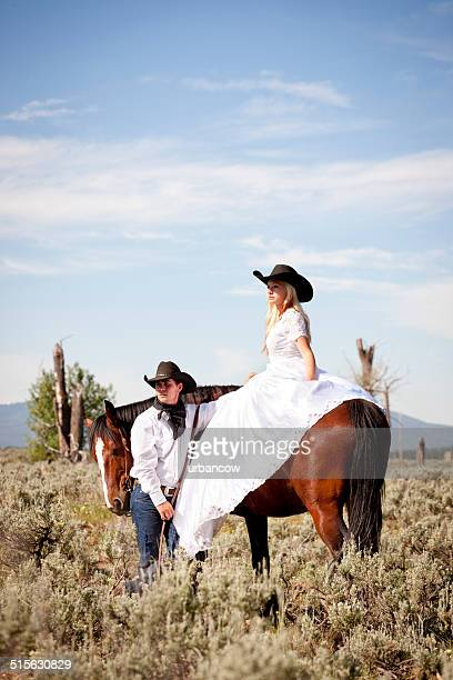 Wild West newly weds