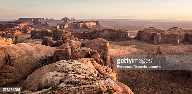 Wild West panorama