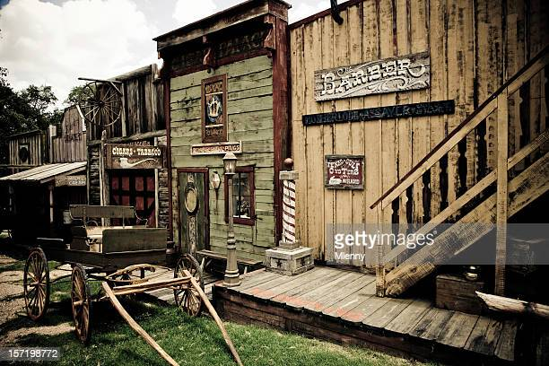 wild west town - mlenny photography stock pictures, royalty-free photos & images