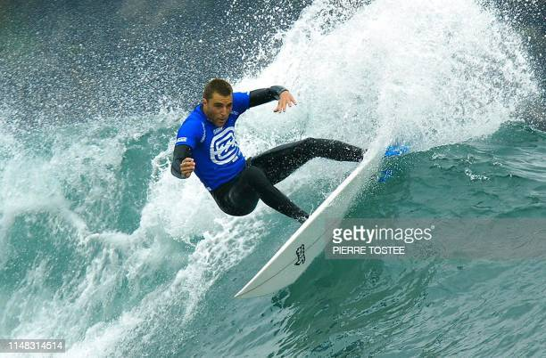 Wildcard Nathan Yeomans of USA causes a sensational upset when he eliminated defending Billabong Pro champion and reigning Association of Surfing...