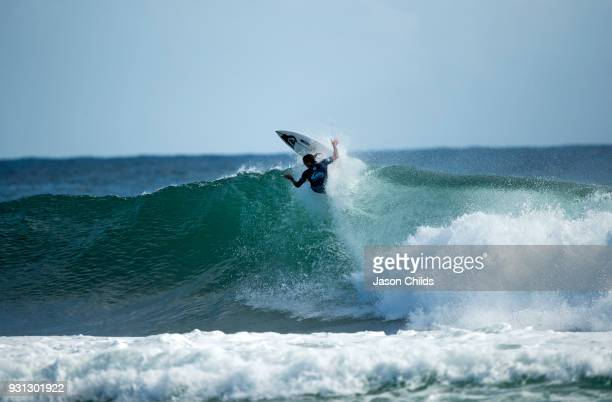 Wildcard surfer Mikey Wright surfing his way to a huge upset win against Current World No 1 John John Florence in the Quiksilver Pro Gold Coast Round...