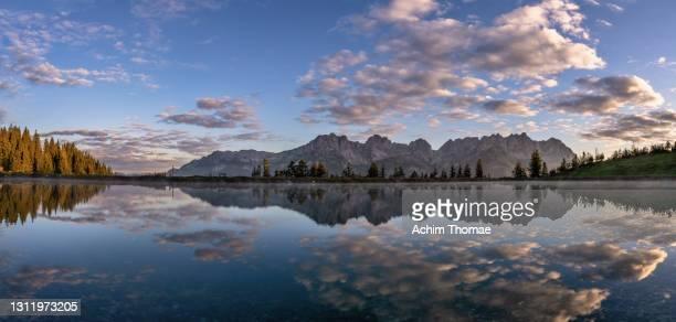 wilder kaiser, tyrol, austria, europe - 北チロル ストックフォトと画像