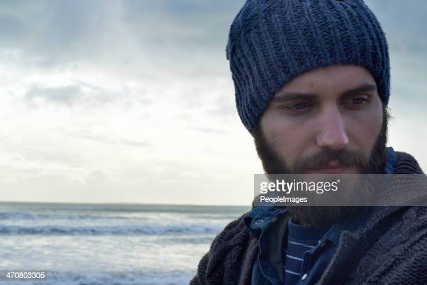 wilderness man - muscle men at beach stock photos and pictures