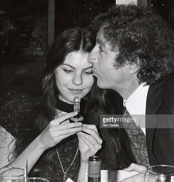 Wilder's daughter and Gene Wilder during 'Silver Streak' Premiere Party December 7 1976 at Tavern on the Green in New York City New York United States