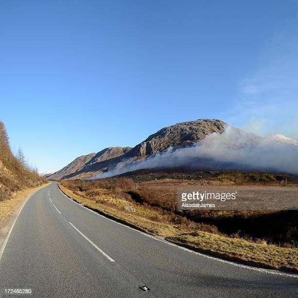 Wildfire in Glen Tarbert