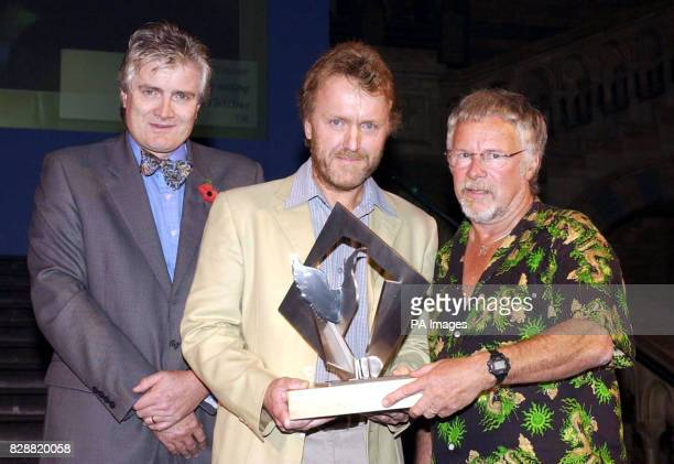 Wildlife Photographer of the Year 2003 The Natural History Museum Cromwell Rd London David Fletcher who's son Iwan won the Young Wildlife...