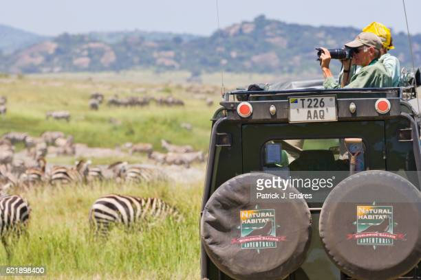 Wildlife watchin in Tanzania