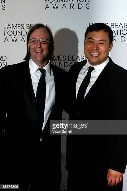 Wiley Dupresue and Ming Tsai attends the 2009 James Beard Foundation Awards Ceremony and Gala at Avery Fisher Hall at Lincoln Center for the...