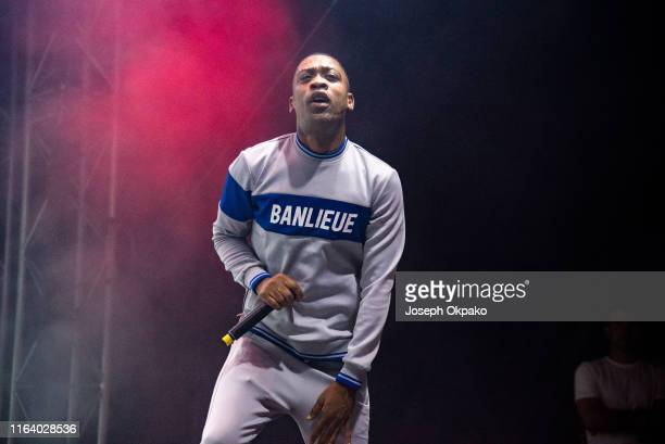 Wiley performs on stage during day 2 of South West Four Festival 2019 at Clapham Common on August 24 2019 in London England