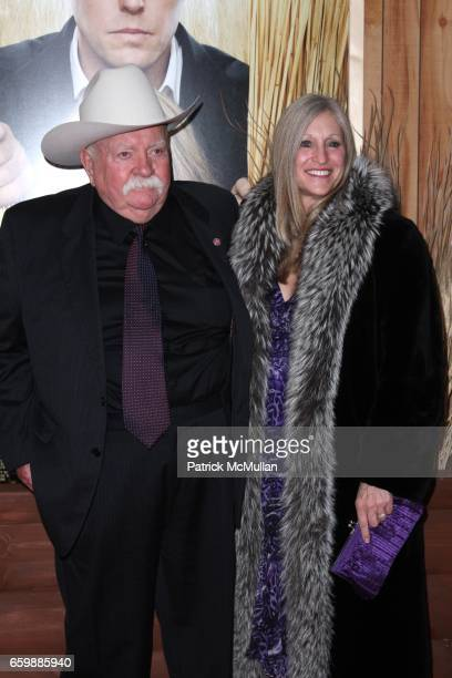 Wilford Brimley and Beverly Brimley attend COLUMBIA PICTURES Presents the New York Premiere of DID YOU HEAR ABOUT THE MORGANS at Ziegfeld Theatre on...