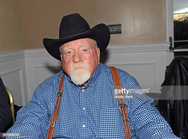 Wilford Brimley attends the 2017 Monster Mania Con at NJ Crowne Plaza Hotel on March 10 2017 in Cherry Hill New Jersey