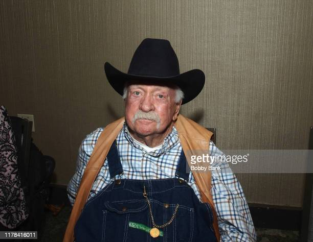 Wilford Brimley attends the Chiller Theatre Expo Fall 2019 at Parsippany Hilton on October 25 2019 in Parsippany New Jersey