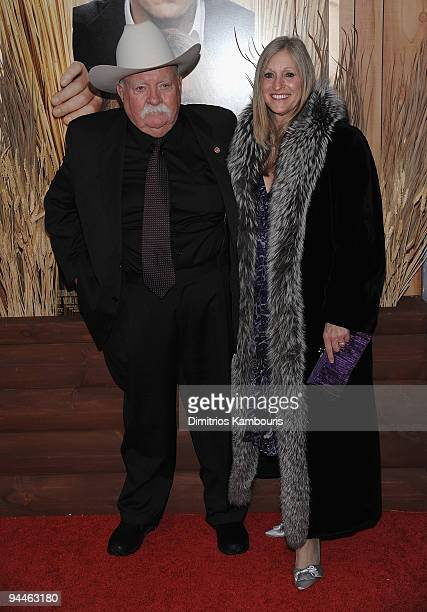 Wilford Brimley attends the Did You Hear About the Morgans New York premiere at Ziegfeld Theatre on December 14 2009 in New York City
