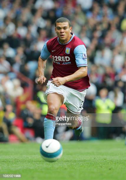 Wilfred Bouma of Aston Villa in action during the Barclays Premier League match between Aston Villa and West Ham United at Villa Park on October 6,...