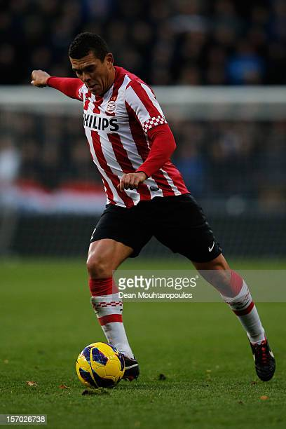 Wilfred Bouma of PSV in action during the Eredivisie match between PSV Eindhoven and Vitesse Arnhem at Philips Stadion on November 25, 2012 in...