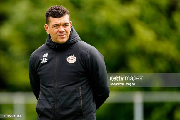 Wilfred Bouma of PSV U23 during the Training PSV U23 at the De Herdgang on May 12, 2020 in Eindhoven Netherlands