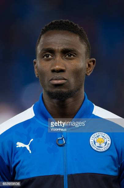 Wilfred Ndidi of Leicester City before the UEFA Champions League Round of 16 second leg match between Leicester City and Sevilla FC at The King Power...