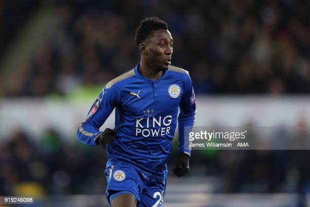 Wilfred Ndidi of Leicester City during the Emirates FA Cup Fifth Round match between Leicester City and Sheffield United at The King Power Stadium on...